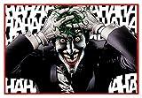 Close Up Batman Poster The Killing Joke (Joker) (63,5x94 cm) gerahmt in: Rahmen rot