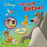 Disney Klassiker: Tierische Rätsel: Mit starken 3-D-Stickern