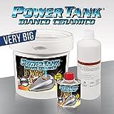 Power Tank BIANCO CERAMICO trattamento ripara serbatoi - KIT VERY BIG - 2,5 KG Più economico di tankerite