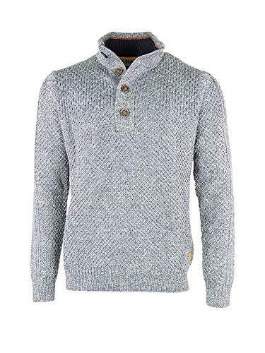 PME Legend Herren Strick Pullover Sweater Knitwear Baumwolle Blau, Größe:XXL, Farbe:Hellblau