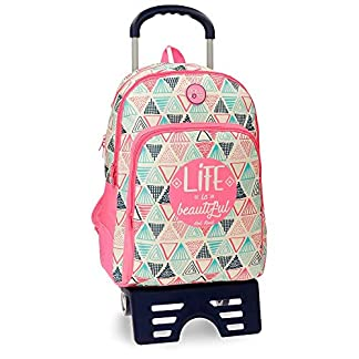 51SKu4sgyTL. SS324  - Mochila doble compartimento 44cm adaptable Roll Road Life