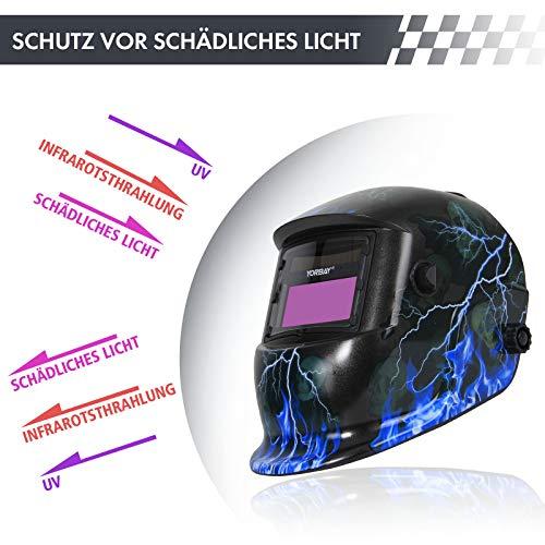 Zoom IMG-2 yorbay casco per saldatura solare