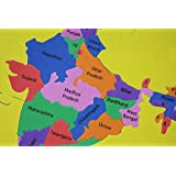 Foam Puzzle India Map State Shaped - Educational Product