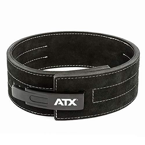 ATX® Power Belt - Gewichthebergürtel - Powerlifting - Veloursleder - schwarz - Größe S - XXL (XXL)