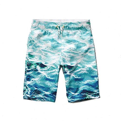 2 Pack Hommes Séchage Rapide été Surf Loisirs Plage Swim Trunk Tailles Et Couleurs Assorties I