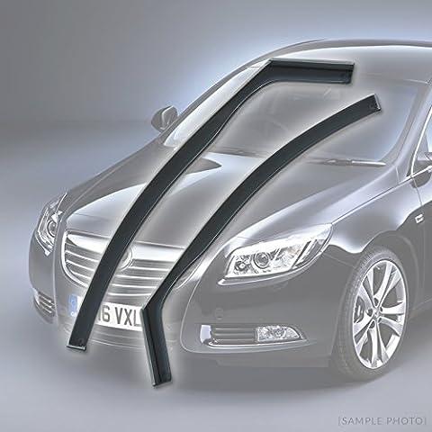 Vauxhall Insignia (2008 onwards 4DR FRONTS) Wind Deflectors Rain Wind Window Deflectors