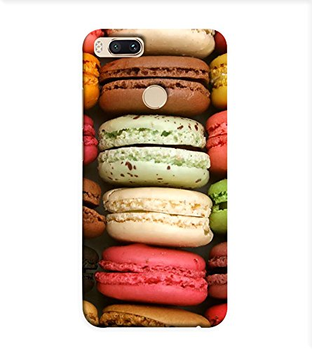 OBOkart Macarons wallpaper 3D Hard Polycarbonate (Plastic) Designer Back Case Cover for Xiaomi Mi A1