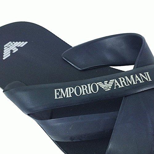Tongs emporio armani bleu marine 5P488 211516 Bleu Marine