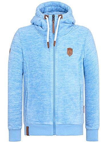 Naketano Male Zipped Jacket Mach Et Otze IV sky blue melange