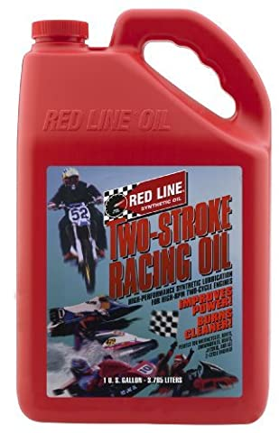 Red Line 40605 2-Stroke Racing Oil - 1 Gallon Jug by Red Line Oil