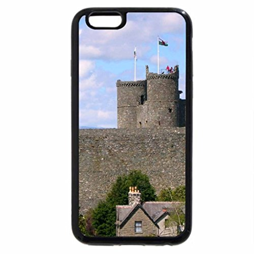 iPhone 6S / iPhone 6 Case (Black) Harlech Castle, England