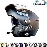C-TK Bluetooth intégré modulaire Casque de Moto ECE la Certification de sécurité Dot Standard-Full Face Racing Casque de Moto Globale,2,L(59~60) CM