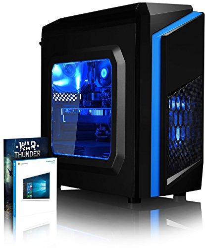 Preisvergleich Produktbild VIBOX Killstreak GL780-26 Gaming PC - 4, 5GHz Intel i7 Quad Core CPU,  GTX 1080,  leistungsfähig,  Desktop Gamer Computer mit 2 Spielgutscheine (Inklusive For Honor Code),  Windows 10,  Blau Innenbeleuchtung,  lebenslange Garantie* (4, 2GHz (4, 5GHz Turbo) Superschneller Intel i7 7700K Kabylake Quad 4-Core Prozessor CPU,  Nvidia GeForce GTX 1080 8GB Grafikkarte,  32GB DDR4 2133MHz RAM,  1TB HDD Festplatte,  Arctic Freezer CPU Kühler,  600W 85+ Netzteil,  F3 Blau Gehäuse,  B150M Mainboard)
