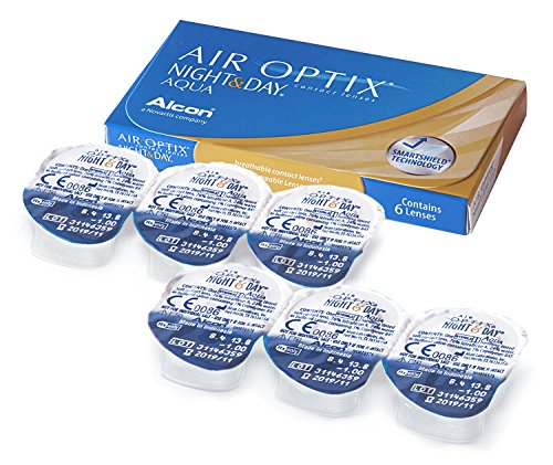 Air Optix Night & Day Aqua Monatslinsen weich, 6 Stück / BC 8.6 mm / DIA 13.8 / -1.75 Dioptrien - 3