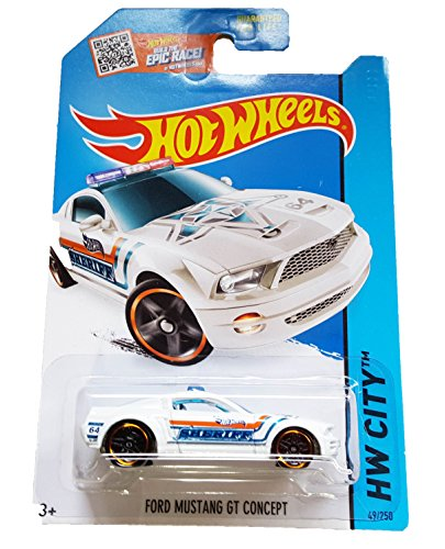 hot-wheels-2015-hw-city-ford-mustang-gt-concept-white-sheriff-die-cast-vehicle-49-250