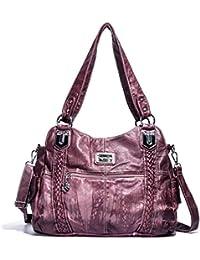 b41c61f43d533 Angel Barcelo Geldbörsen und Handtaschen für Frauen Damen Umhängetasche  Designer Tie Dye Satchel Fashion Totes…