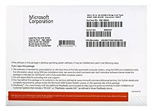Microsoft Windows 10 Pro - operating systems (Original Equipment Manufacturer (OEM), Full packaged product (FPP), ENG, 800 x 600 pixels, DVD)