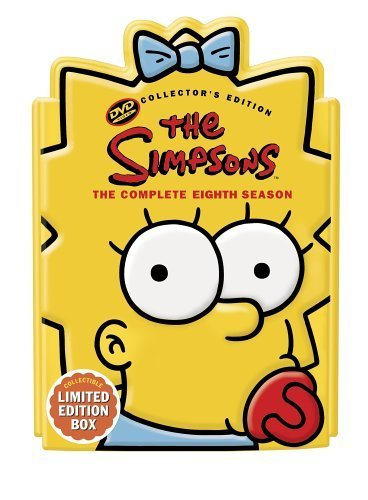 The Simpsons - Season 8 - uncut - limited edition Maggie head (4 DVD Collector's Edition) by Dan Castellaneta (Fat Head Dvd)