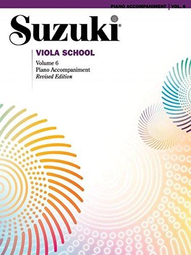 Suzuki Viola School Piano Accompaniment, Volume 6 (Revised) (Suzuki Method Core Materials)