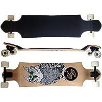 Deluxe Longboard Maxofit Atomic No.3, 104 Cm, 9 Strati Di Acero Canadese, Drop Down, Azione Fino A Esaurimento Della Merce - Azione Longboard Skateboard