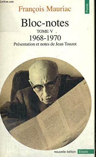 Bloc-notes: Tome 1, 1952-1957