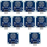 10 unidades TTP223B interruptor táctil capacitivo, módulo de sensor táctil, interruptor digital con sensor táctil capacitivo, DC 2~5,5 V para Arduino Raspberry Pi
