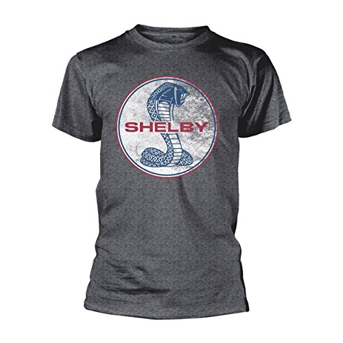 Cobra-logo-t-shirt (Shelby AC Cobra Logo Muscle Car offiziell Männer T-Shirt Herren (Medium))