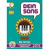 Dein Song 2015 - die Noten - arrangiert für Songbook - mit CD [Noten/Sheetmusic]