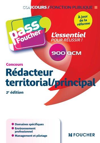 Pass'Foucher - Concours Rédacteur territorial / principal 2e édition à jour de la réforme