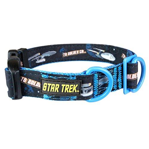 Star Trek - Hunde Halsband - To Boldly Go (S-XL) ()