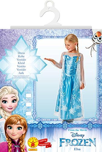 Imagen de frozen  disfraz elsa classic infantil, talla s rubie's spain 620975 s  alternativa