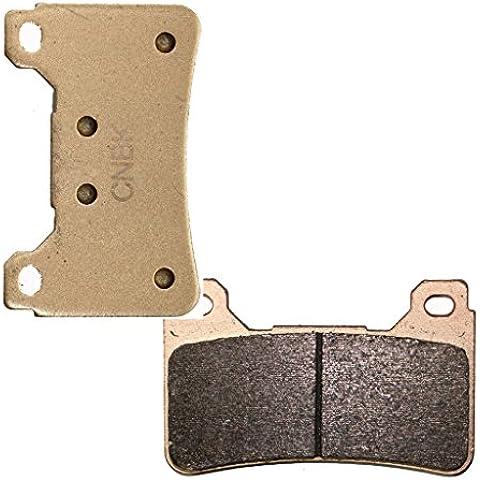 Delanteros Derecha sintetizadas HH de almohadillas de zapatos de freno for HONDA Street CBR600 CBR600RR CBR 600 RR Radial caliper 05 06 2005 2006 1 Pair(2 Pads)
