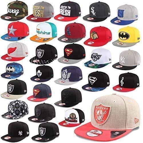New Era Cap 9Fifty Casquette Snapback New York Yankees Dodgers De Los Angeles Sox Giants uvm