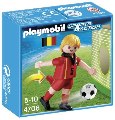 Playmobil Fútbol - Fútbol: jugador Bélgica 4706
