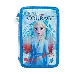 FROZEN II- Disney Estuche Triple Frozen 2 Elsa, Color Set (CIFE Spain 41906)