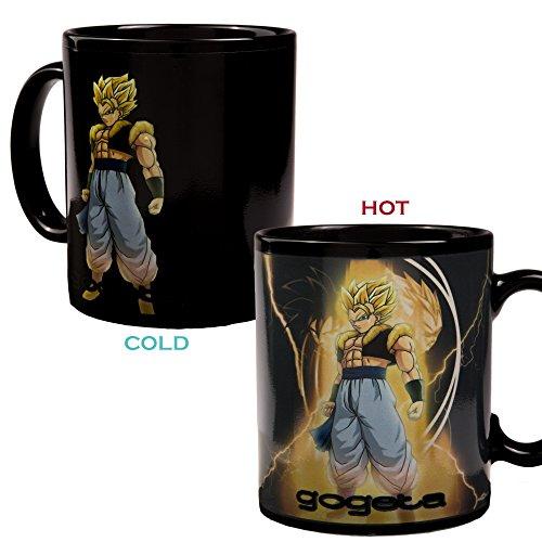 Dragon Ball Z Gogeta Hitze Reagierende Farbewechsel Kaffeetasse und Wärme Reactive