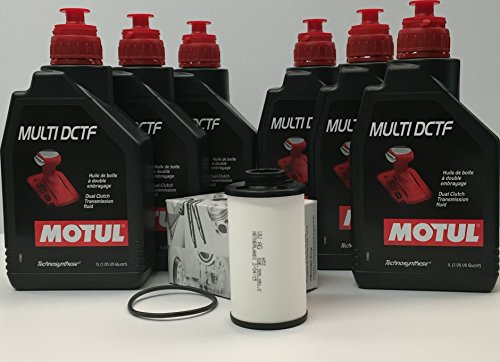 KIT olio cambio dsg composto da 6 kg olio MOTUL Multi DCTF (G052182A2) con cartuccia filtro o