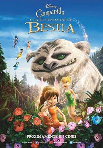 Campanilla Y La Leyenda De La Bestia [Blu-ray] 51SL9JneeLL