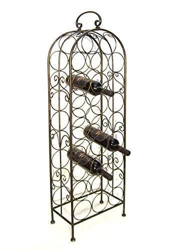 Ambiente Haus 94004 Dresden-Flaschenständer 26 Flaschen 112 cm -