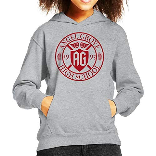 Power Rangers Angel Grove High School Kid's Hooded Sweatshirt (Kid Power Ranger)