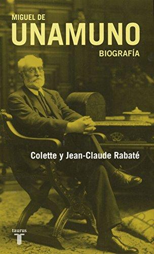 Unamuno por Jean-Claude Rabate, Colette Rabaté