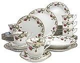 Creatable 15606, Ivona Rosen+Goldstaub, Service de Table 30 piéces, Porcelaine, Multicolore, 37 x 31,5 x 30,2 cm