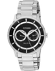 Citizen Herren-Armbanduhr XL Analog Quarz Edelstahl BU4000-50E