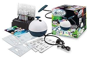 Orbis 30020 Airbrush Power Studio, Juego Completo con Compresor y Accesorios, Insertar el Cartucho y Empezar a pulverizar, Sistema de aerógrafo para niños y Adultos creativos, fácil y Limpio
