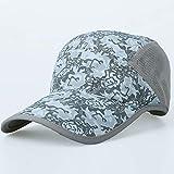 HUAIX Home Cappello di Protezione Solare Cappello Estivo Femminile Estivo Visiera Visiera Protezione UV Cappello da Sole Sport Tennis Berretto da Baseball Maschile