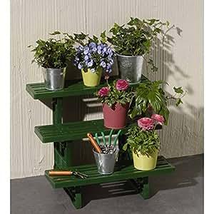 Etagère plantes Jumbo 3 marches