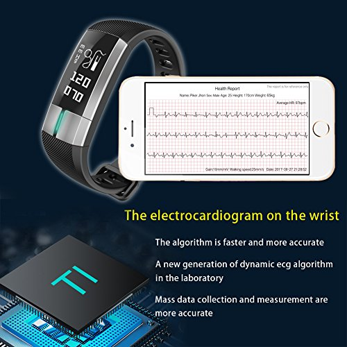Fitness-tracker-Smart-Bracelet-Fitness-Activity-Tracker-Pulsometros-ECGPPG-Monitoring-Smart-Watch-Real-time-Heart-Rate-Blood-Pressure-IP67-waterproof-Pedometer-Sleep-Monitor-Fitness-Sports-Watch-CallS