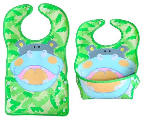 bomio-grosses-latzchen-mit-faltbarer-auffangschale-fur-babys-und-kleinkinder-wasserabweisend-und-lei