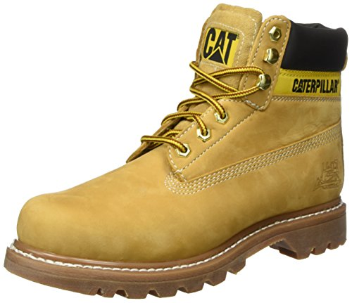 Caterpillar COLORADO, Herren Kurzschaft Stiefel, Gelb (Honey), 43 EU