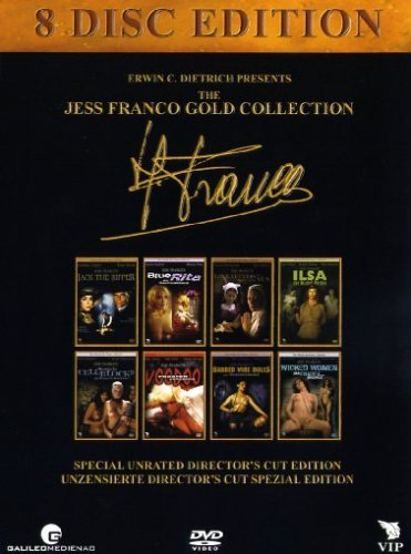 Bild von Jess Franco - The uncut & unrated collection featuring Jack the Ripper, Blue Rita, Ilsa - The Wicked Warden, Women in Cellblock 9, Voodoo Passion, Barbed Wire Dolls Wicked Women and Love Letters from a Portuguese Nun by Ada Tauler